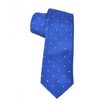 Cravatta Electric Blue
