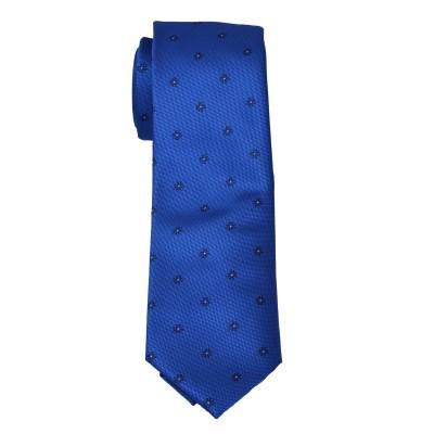 Cravatta bluette fantasy