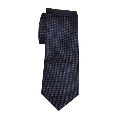 Cravatta fondo nero micropunti