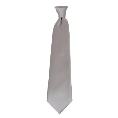 Plastron grigio perla