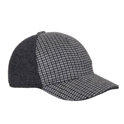 Berretto lana calda grigio