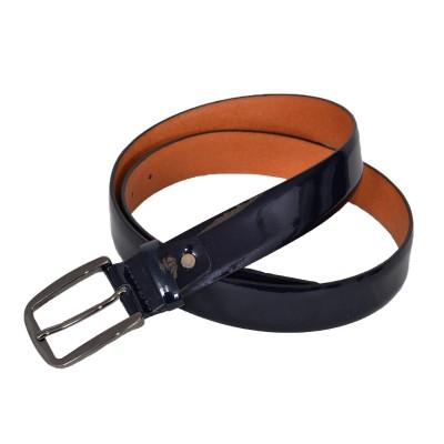 Cintura lucida vernice nera