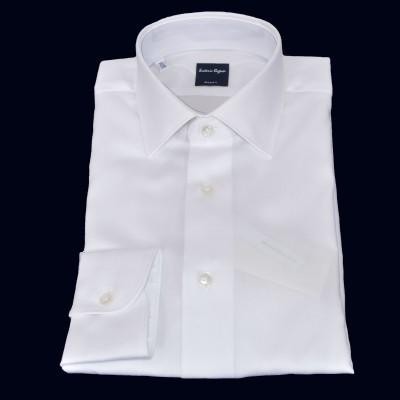 Camicia in cotone disegno Oxford bianca 6000